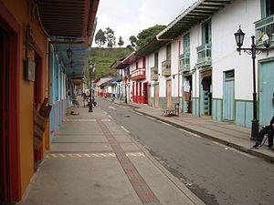 Salento, Quindío - Image: Callerealsalento