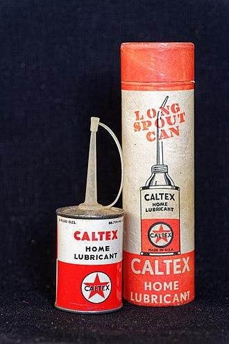 Caltex - Caltex home lubricant