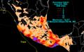 Calvin 1993 rainfall.png