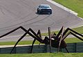 Camaro & spider sculpture at Barber 2010.jpg