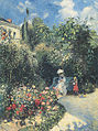 Camille Pissarro - La Jardin à Pontoise - 1877.jpg