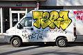 Camion tagué dans Paris 2012 2.jpg