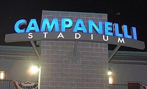Campanelli Stadium - Image: Campanelli Stadium Front