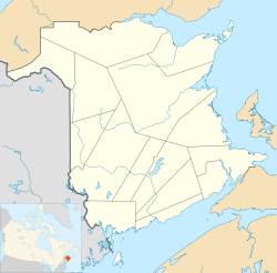 St. Stephen, New Brunswick is located in New Brunswick