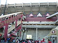 Candlestick Park rim and escalator.JPG