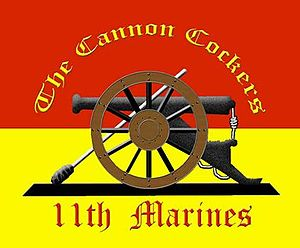 11th Marine Regiment (United States) - 11th Marine Regiment Insignia