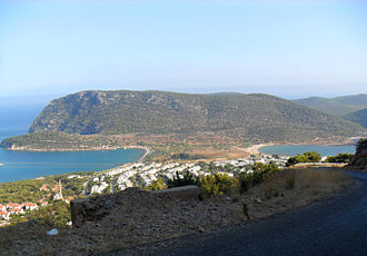 Cape (geography) - Cape Tisan in Mersin Province, Turkey