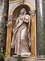 Cappella chigi (siena), Ercole Ferrata, santa caterina da siena 02.JPG