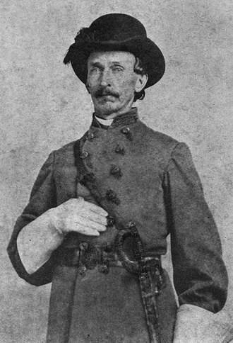 John Jackson Dickison - Then-Capt. John Jackson Dickison (1864)