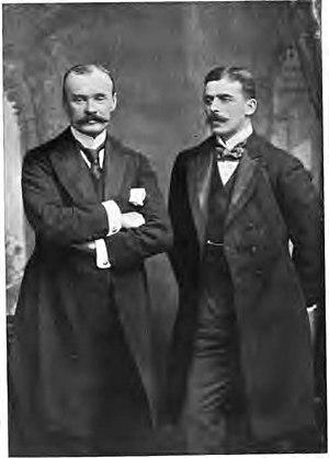 Benin Expedition of 1897 - Boisragon and Locke, the two British officers to survive the counterattack