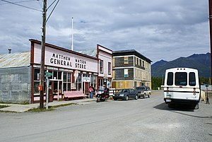"Carcross - ""Downtown"" Carcross"