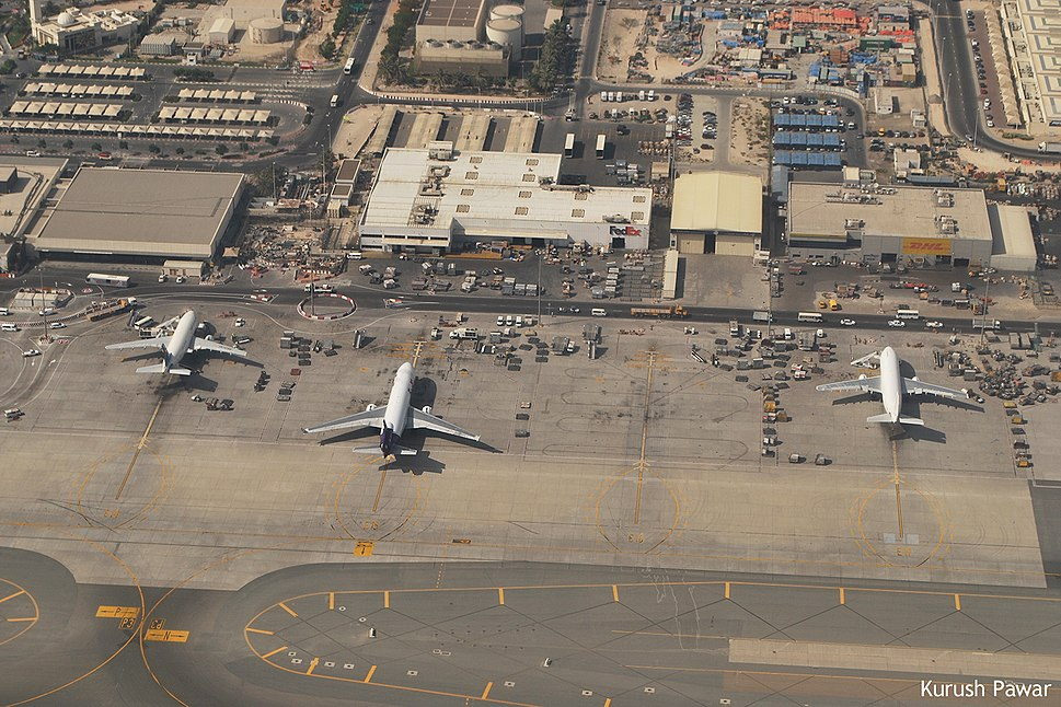 Cargo Terminal and T2, DXB