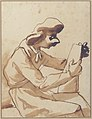 Caricature of a Seated Man Reading MET 61.2.2.jpg