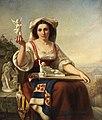 Carl Huth - Italienische Amoretten-Verkäuferin, 1858.jpg
