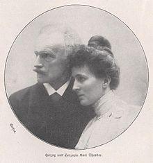Maria José di Braganza con il marito Carlo Teodoro, duca in Baviera