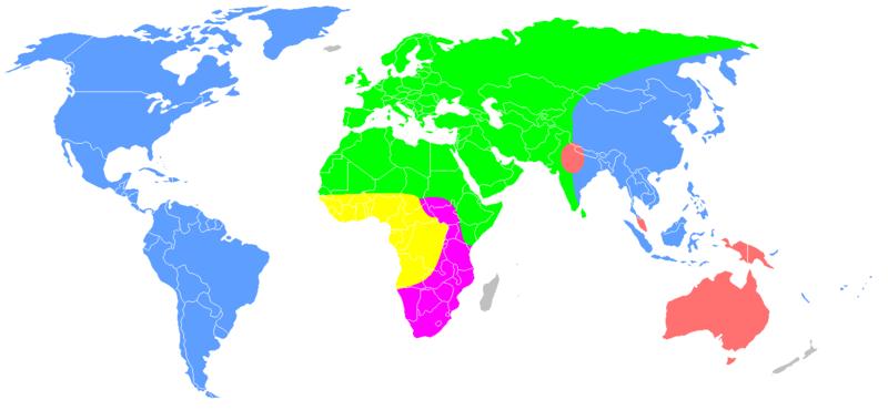 Las razas y etnias en el mundo 800px-Carleton_Coon_races_after_Pleistocene