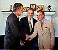Carlos Menem, Fernando Henrique Cardoso y Juan Carlos Wasmosy.jpg