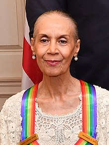 Carmen de Lavallade receiving the Kennedy Center Honor Medal in 2017