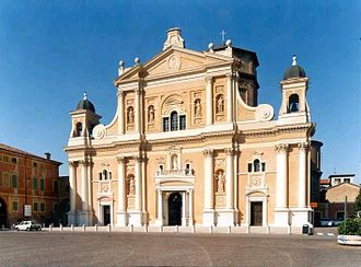 Carpi, Emilia-Romagna - Carpi Cathedral or Duomo