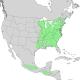 Carpinus caroliniana range map 1.png