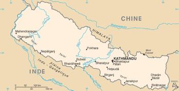 Népal 2014 350px-Carte_Nepal