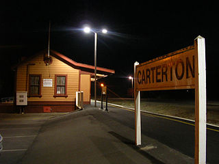 Carterton railway station