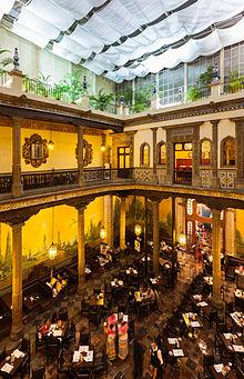 Casa de los azulejos wikipedia for Historia de sanborns