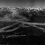 Casement Glacier, valley glacier terminus and glacial remnents, August 27, 1969 (GLACIERS 5298).jpg