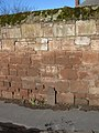 Cast Iron marker and wall by Parkgate Road - geograph.org.uk - 1137926.jpg