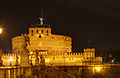 Castel del Angelo at night.jpg