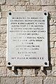 Castello di Barletta - Lapide marmorea sul rivellino.jpg