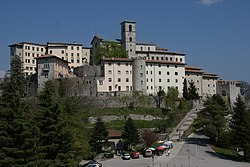 The monastery of Castelmonte (Stara Gora) in Prepotto municipality