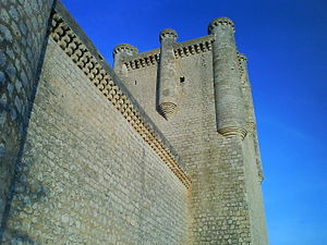 Torrelobatón - Main tower of the 'Torrelobaton Castle'.