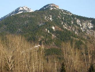 Morrissey Ridge - Image: Castle Mountain (British Columbia)