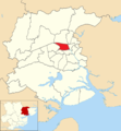 Castle ward shown within Colchester Borough.png