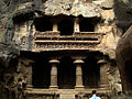 Caves sorrunding Kailasha.JPG