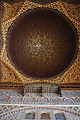 Ceiling decoration in the Hall of Ambassadors, Alcazar in Seville (UNESCO World Heritage Site). Seville, Andalusia, Spain, Southwestern Europe.jpg