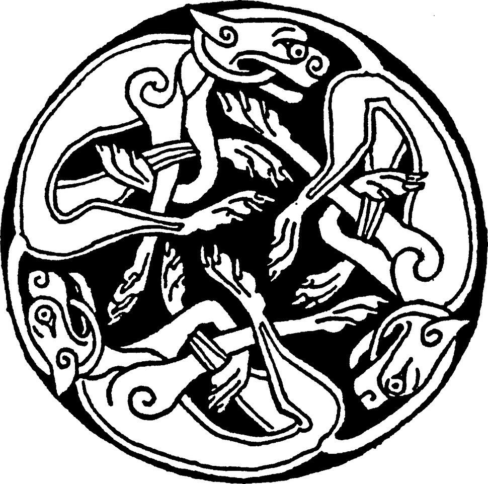 Celtic rond chien