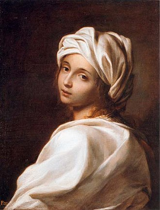 Percy Bysshe Shelley - Reni or Sirani's portrait of Beatrice Cenci, which captivated Shelley and inspired his verse play on her parricide