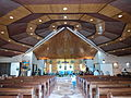 Central aisle of Our Mother of Good Counsel Chapel, Sentro Pastoral, Lucena City.jpg