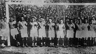 Central Córdoba de Rosario - The 1933 team that won the Copa Beccar Varela, its only title in Primera División.