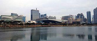 Korea New Network - Image: Centum City, Busan, 2014 12 28