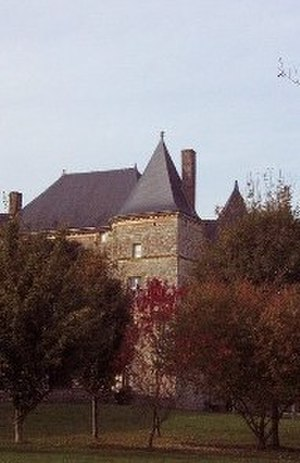 Château de Doumely - The Château de Doumely, as seen from the grounds