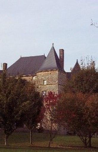 Château de Doumely - The Château de Doumely, as seen from the grounds