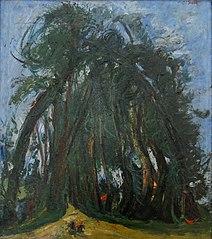 L'Allée d'arbres