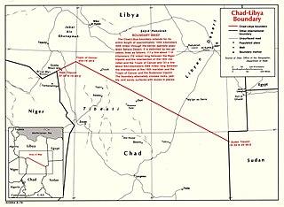 Chad–Libya border