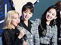 Chaeyoung, Jeongyeon and Nayeon at Gaon Awards on January 23, 2019.jpg