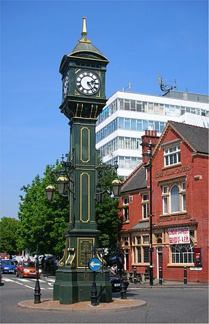 Chamberlain Clock - The Chamberlain Clock, commemorating Joseph Chamberlain's visit to South Africa in 1903