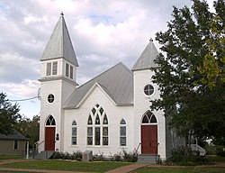 Chappell hill methodist episcopal church 2008.jpg