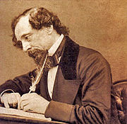 The author, Charles Dickens